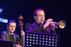 Pawel Panta på Kaunas jazz 2015 Royaltyfri Bild