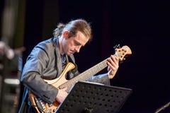 Pawel Panta przy Kaunas jazzem 2015 Zdjęcie Royalty Free