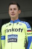 PawelI Poljanski Tinkoff Team - Saxo Royalty Free Stock Photography