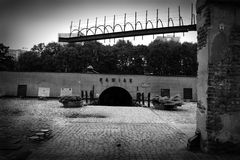 Pawiak - former Gestapo Prison Royalty Free Stock Images
