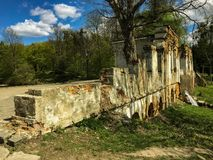 Pawilon ruiny obrazy stock