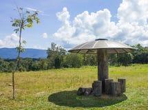 Pawilon w Khao Yai parku narodowym Fotografia Stock