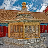 Pawilon, Zakazujący miasto, Pekin, Chiny Fotografia Stock