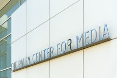 The Pawley Center for Media. Royalty Free Stock Photos