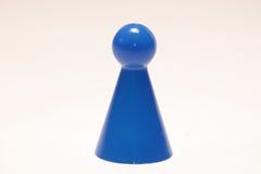 Pawn. A game pawn stock photos