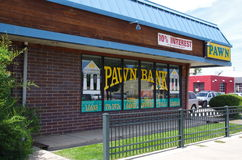 Pawn Bank Royalty Free Stock Photo