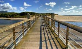 Pawn bridge in Vila Praia de Ancora Stock Image