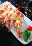 Pawn with cheese. Japanese cuisine cheese shrimp pawn Stock Image