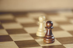 Pawn Chess Pieces Stock Photography