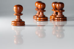 Pawn chess Stock Photo