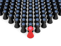 Pawn crowd Royalty Free Stock Photography