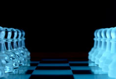 Pawn formations Royalty Free Stock Photos