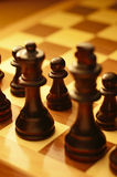 Pawn in a game of chess Royalty Free Stock Images
