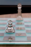 Pawn King Chess Pieces - Business Concept - small  Royalty Free Stock Photos
