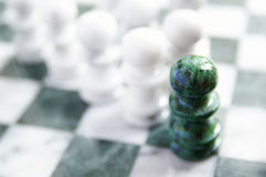 Pawn leader Royalty Free Stock Images