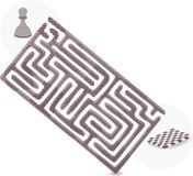Pawn Maze Stock Photos