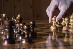 Pawn move Stock Photos