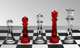 Pawn to Queen Stock Images