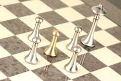 Pawn in trap Royalty Free Stock Photo