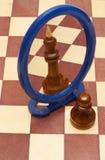 Pawn vs king Stock Photos