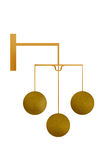 pawnbroker złoty znak Zdjęcie Stock