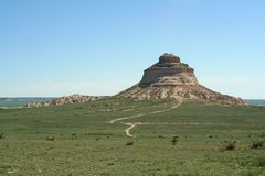 Pawnee Butte Royalty Free Stock Photos