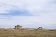 The Pawnee Buttes Royalty Free Stock Photography
