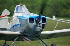 Pawnee towing plane Royalty Free Stock Photo