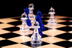 Pawns Royalty Free Stock Images