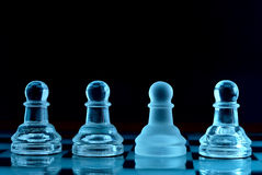 Pawns royalty free stock photography