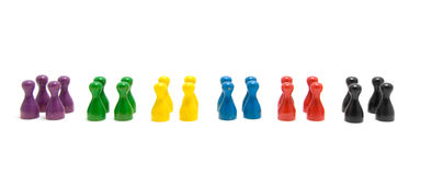 Pawns Royalty Free Stock Photos