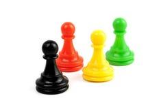 Pawns isolated Stock Image