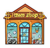 A pawnshop Stock Photography