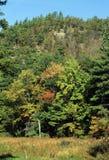 Pawtuckaway山-新罕布什尔 库存图片