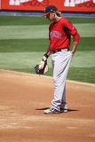 Pawtucket Red Sox Lars Anderson Foto de Stock