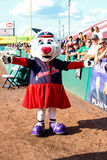 Pawtucket Red Sox Mascot Sox. Stock Images