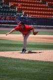 Pawtucket Red Sox pitcher Brandon Duckworth Stock Photo