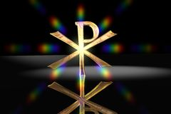 Pax Christi - Christian Cross Symbol Royalty Free Stock Photo