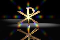 Pax Christi - Christian Cross Symbol royalty free illustration