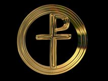 Pax-Christi symbol Stock Photography