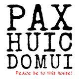Pax Huic Domui Royalty Free Stock Photos