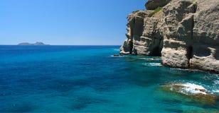 Paximadia Insel-Kreterlandschaft Stockbilder