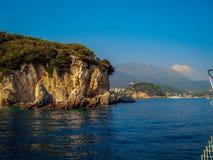 paxos-antipaxos的希腊海岛 库存照片