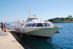 Paxos hydrofoil, Greece Stock Image