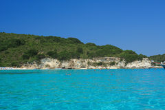 Paxos island Greece Royalty Free Stock Image