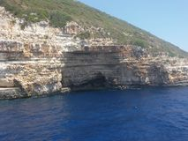 Paxos island Greece. Beautiful nature in Paxos island, Greece Royalty Free Stock Photo