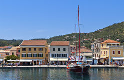 Paxos island in Greece Stock Photography