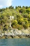 Paxos un'isola greca nel mare ionico immagine stock libera da diritti