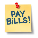 Pay bills Stock Photos