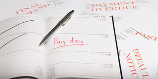 Pay day loan Stock Photos